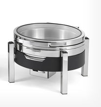 Load image into Gallery viewer, CHAFING DISH ROUND STAINLESS STEEL 6.5LT