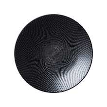 Load image into Gallery viewer, URBAN RANGE – BLACK SWIRL ROUND COUPE PLATE