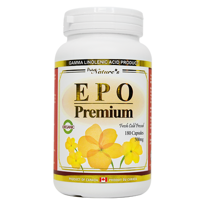 Evening Primrose Oil (EPO) - 180 Capsules - PNC Pure Natures Canada