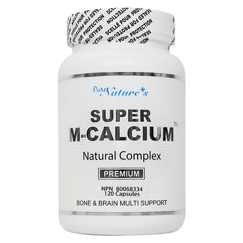 [PNC] Super M-Calcium Natural Complex Bone and Brain Multi Support - 120 Caps - Healthcare Supplement