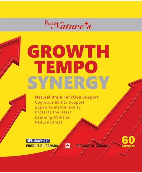 Growth Tempo Synergy - 60 Capsules - PNC Pure Natures Canada