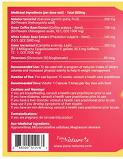 Hollywood Fat Burner - 90 Capsules - PNC Pure Natures Canada