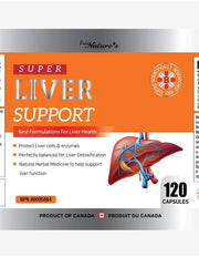 Super Liver Support - 120 Capsules - PNC Pure Natures Canada