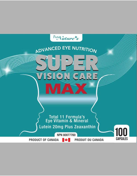 [PNC] Super Vision Care Max Advanced Eye Nutrition 100 Caps