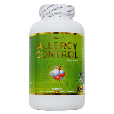 Allergy Control Herb Extract - 180 Capsules - PNC Pure Natures Canada