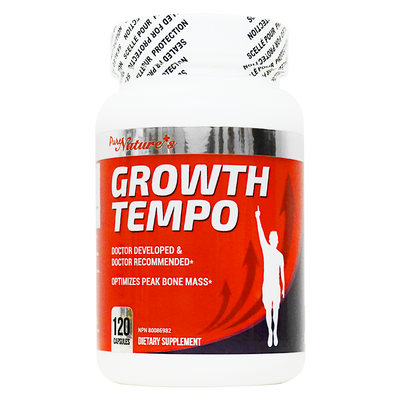 [PNC] Growth Tempo - Health Supplements - 120 caps - Optimizes Peak Bone Mass +