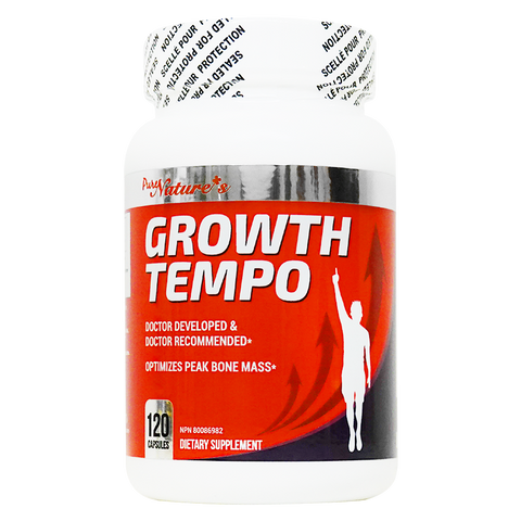 Growth Tempo - 120 Capsules - PNC Pure Natures Canada