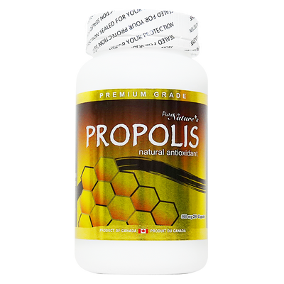 [PNC] Propolis Natural antioxidant Made with Superior Ingredients 500mg - 200 Caps…