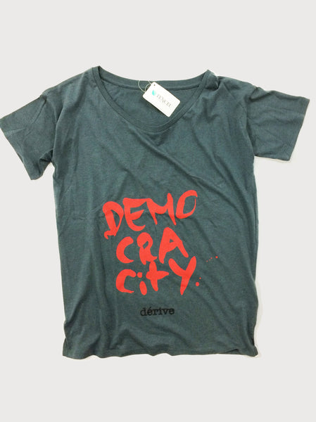 DEMOCRACitY - Damen T-Shirt