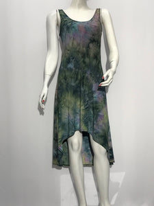 Tank Dress Tie Dye Print - americanfashion2