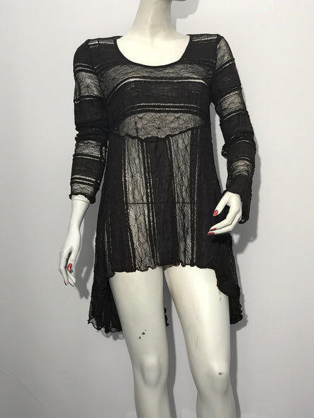 Novelty Lace Tunic - americanfashion2