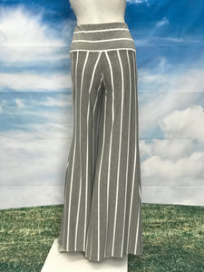 Stripe Palazzo Pants - americanfashion2