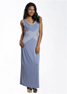 Sleeveless Maxi Dress - americanfashion2