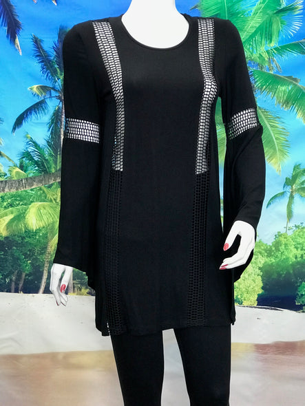 Bell Sleeve Tunic - americanfashion2
