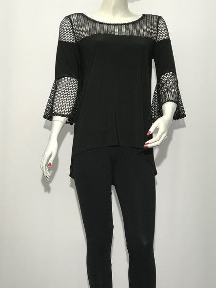 CROCHET LACE TOP - americanfashion2