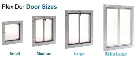 Plexidor Different Sizes
