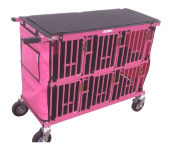 Best in Show Mini Six Berth Dog Show Trolley-Dog Trolley-Pet's Choice Supply