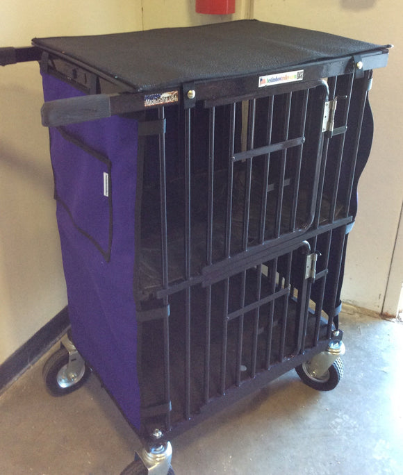 Best in Show 2 Berth Double Decker Dog Show Trolley-Dog Trolley-Pet's Choice Supply