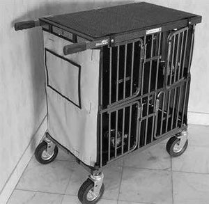 Best in Show Mini 4 Berth Dog Show Trolley-Dog Trolley-Pet's Choice Supply