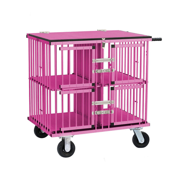 Aeolus KB-511 Four Berth Dog Show Aluminum Portable Trolley-Dog Trolley-Pet's Choice Supply