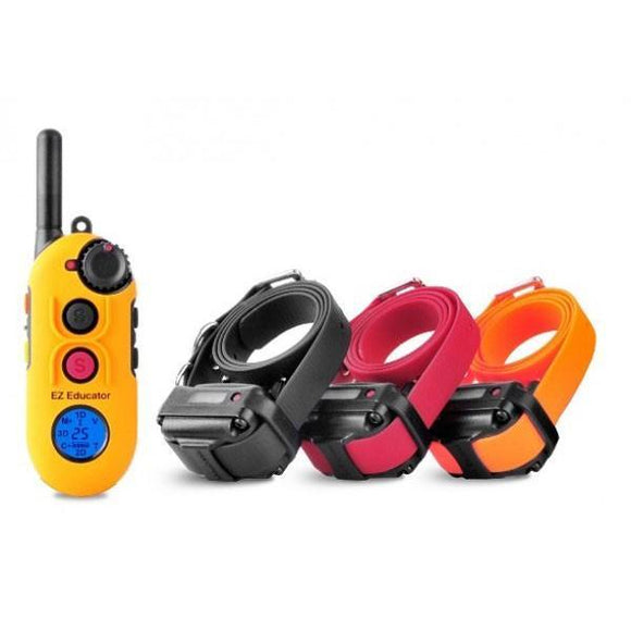 Educator EZ-903 1/2 mile Remote Three Dog Training Collar by E-Collar-Dog Training Collars-Pet's Choice Supply