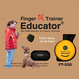 Educator FT-330 Finger Trainer 1/2 Mile Remote Dog Training Collar-Dog Training Collars-Pet's Choice Supply