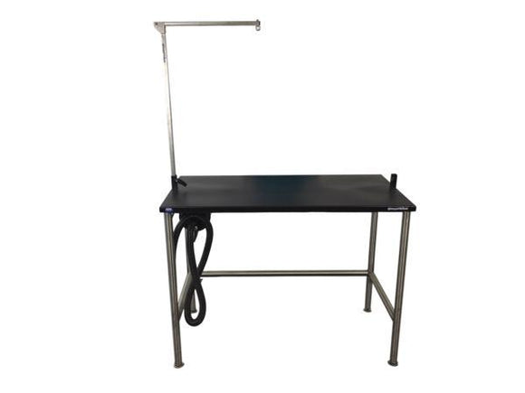 Groomer's Best ADA Compliant Stationary Grooming Table with Grooming Arm-Grooming Tub-Pet's Choice Supply