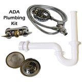 Groomer's Best Tub Plumbing, Faucet, and Sprayer Kit-Grooming Tub Parts-Pet's Choice Supply