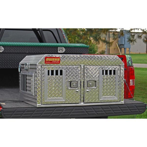 Owens Hunter Aluminum Double Dog Box-Dog Box-Pet's Choice Supply