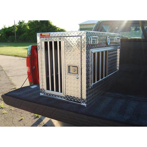 Owens Hunter Series Single Compartment All Seasons Aluminum Dog Box-Dog Box-Pet's Choice Supply