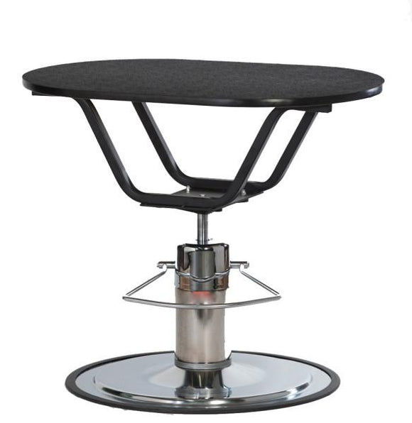 PetLift Classic Hydraulic Oval Dog Grooming Table-Grooming Table-Pet's Choice Supply