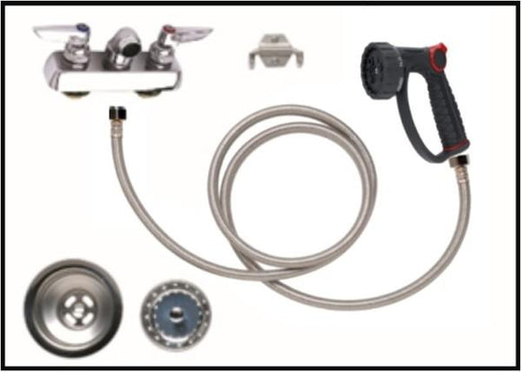 Petlift Faucet / Plumbing Package - 4