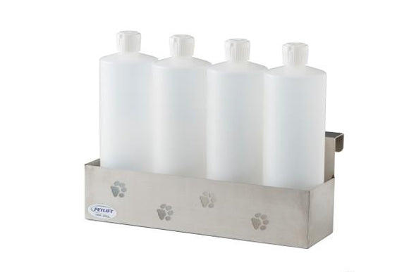PetLift Stainless Steel Bottle Holder for Dog Grooming Tubs-Grooming Tub Parts-Pet's Choice Supply