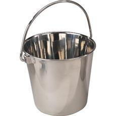 Petlift Stainless Steel Colecting Pail - 13 Qt-Grooming Table Parts-Pet's Choice Supply