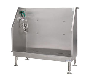 "PetLift ""The Monster"" Stainless Steel Walk-In Dog Grooming Bath Tub-Grooming Tub-Pet's Choice Supply"