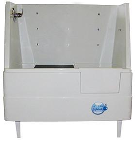 "Ultra Lift 3 Side Splash 48"" Stationary Pet Wash - Dog Grooming Tub-Grooming Tub-Pet's Choice Supply"