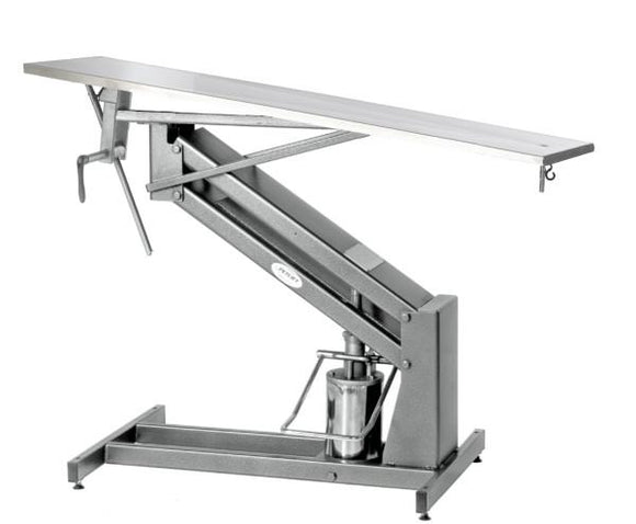 VetLine Economy Hydraulic Surgery Table-Veterinary Surgery Table-Pet's Choice Supply