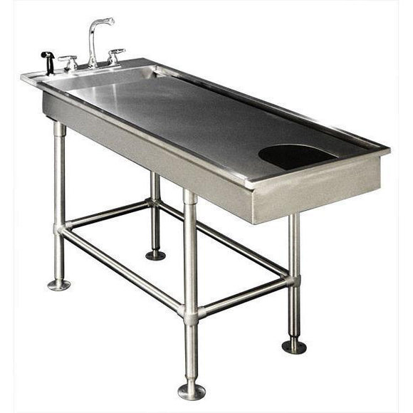VetLine Economy Low-Profile Tub Table-Veterinary Wet Table-Pet's Choice Supply