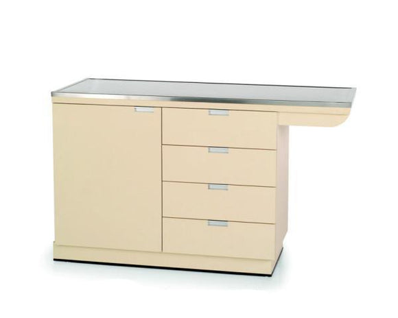 VetLine Veterinary Exam Table w/ Knee Space & Cabinets-Veterinary Exam Table-Pet's Choice Supply