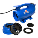 XPOWER B-8S Elite Brushless Motor Dog Grooming Heat Force Dryer-Dog Grooming Dryer-Pet's Choice Supply