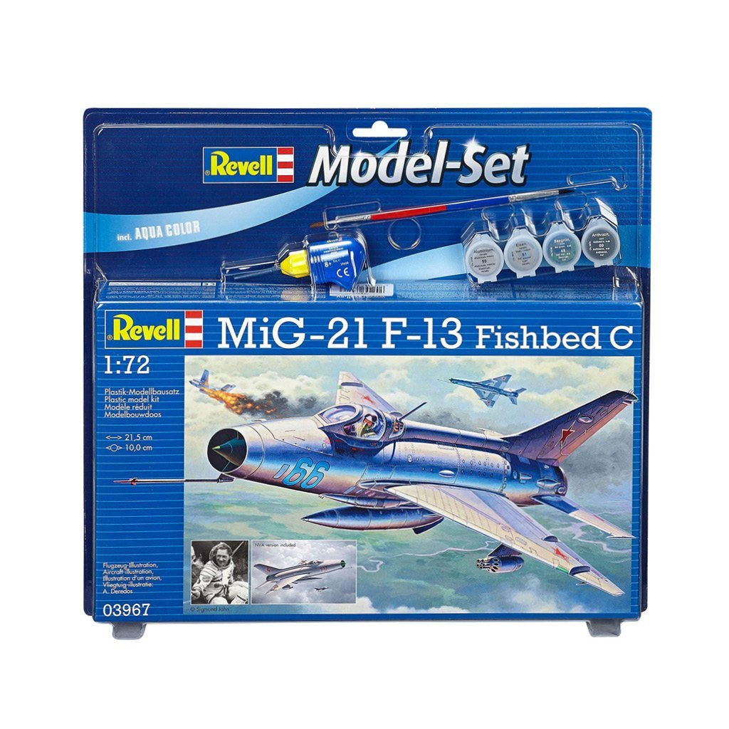 REVELL MODEL SET MIG-21 F.13 FISHBED C