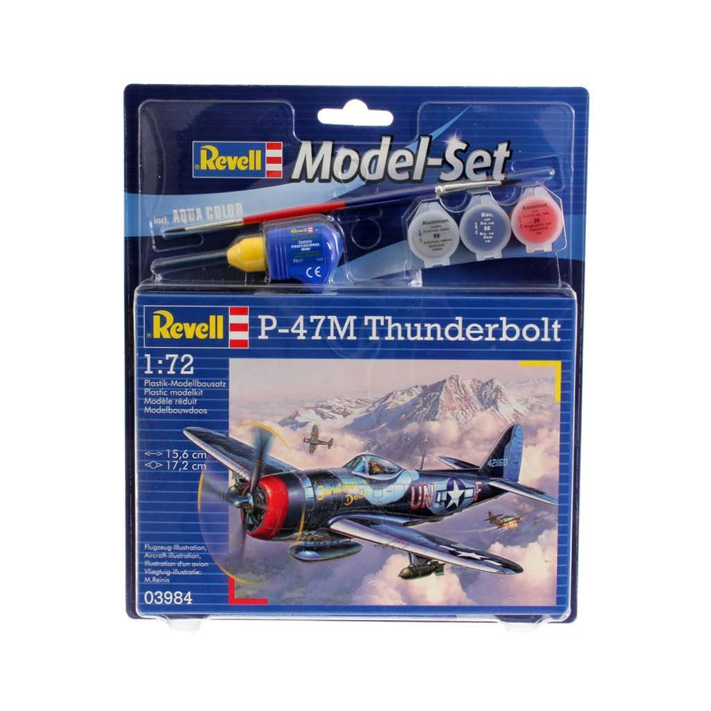 REVELL MODEL SET P-47M THUNDERBOLT