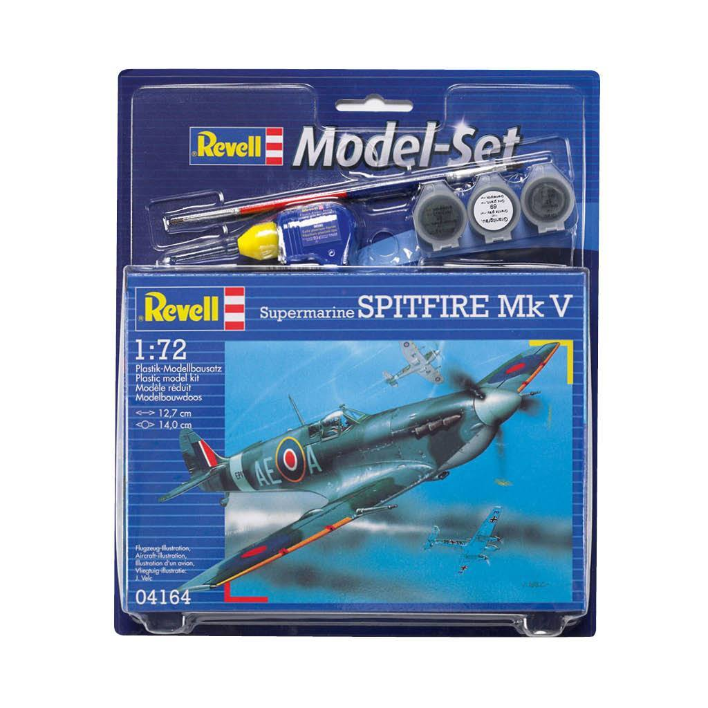 REVELL MODEL SET SPITFIRE MK V