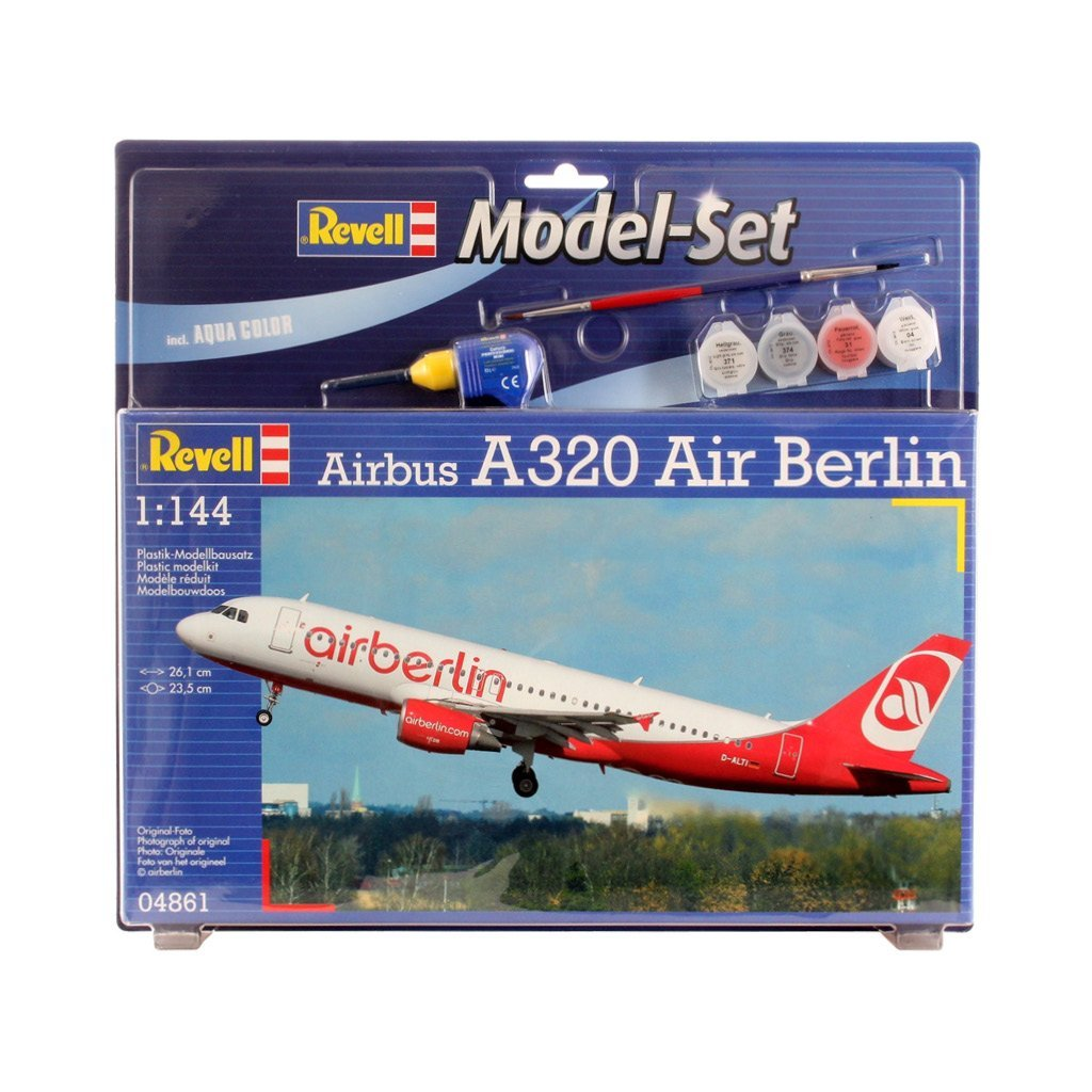 REVELL MODEL SET AIRBUS 1320 AIR BERLIN