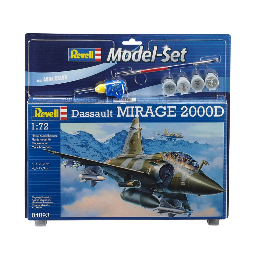 REVELL MODEL SET MIRAGE 2000D