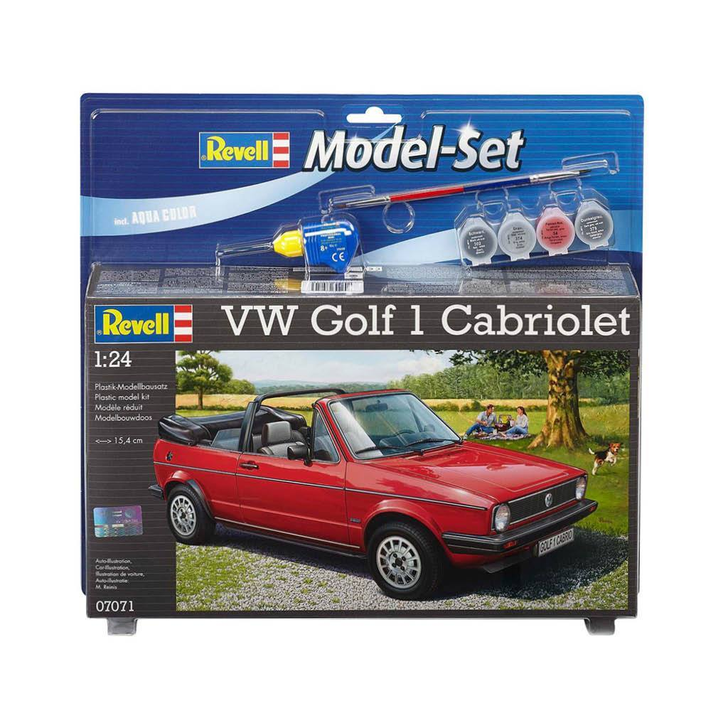 REVELL MODEL SET VW GOLF 1 CAPRIOLET