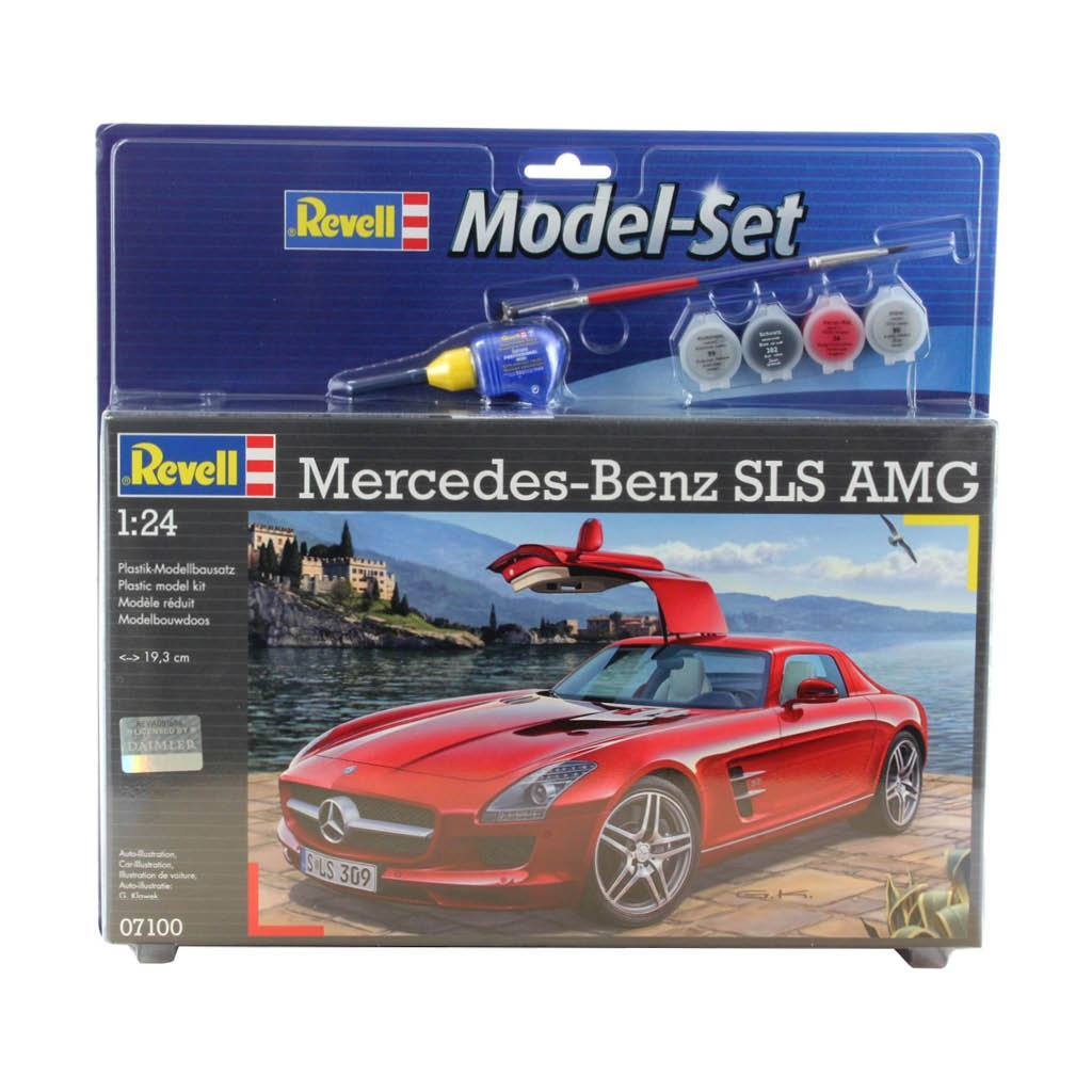 REVELL MODEL SET MERCEDES SLS AMG
