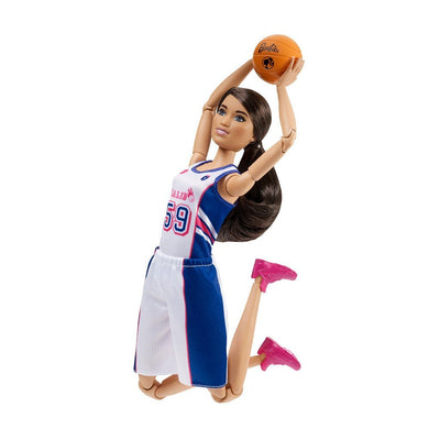 BARBIE SPORTDOCKA - BASKETSPELARE