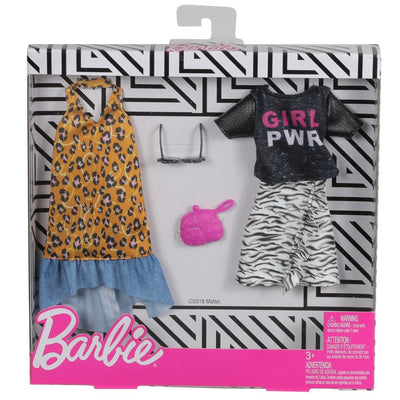 BARBIE KLÄDER 2-PACK - GIRL POWER SET