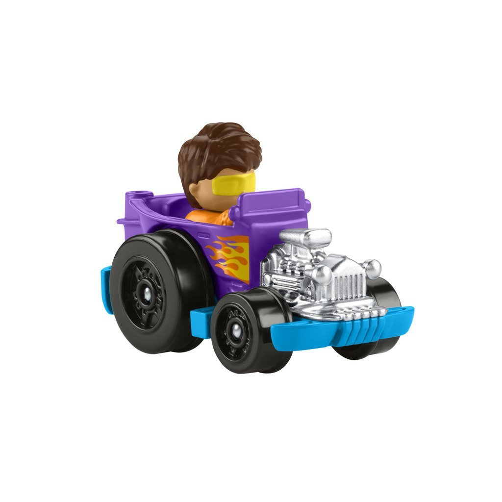 FISHER-PRICE LITTLE PEOPLE NEW WHEELIES FORDON - LILA